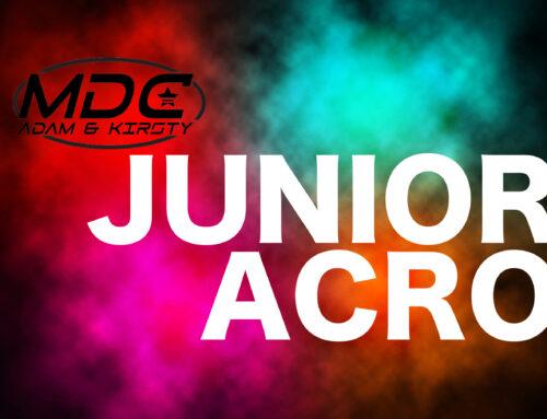 JUNIOR ACRO VIRTUAL CLASS
