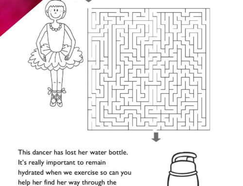 HELP THE DANCER- FUN SHEET