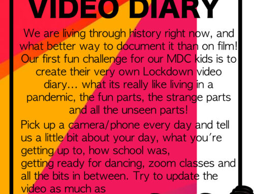 FUN CHALLENGE – LOCKDOWN VIDEO DIARY!