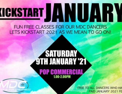 KICKSTART JANUARY 2021 – FREE CLASS!